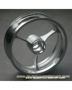 "Rim 2.5""x8"" 3-Spoke Extra Light (700g) Reinforced Aluminum"