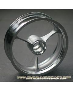"Rim 2.5""x8"", 3 Strokes, Extra Light (700g) Reinforced Aluminum"