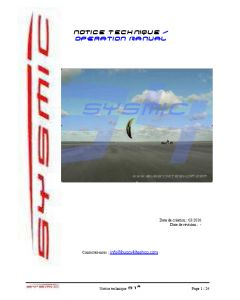SYSMIC S1 User Manual