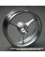 "Rim 2.5""x8"", 3 Spokes, Extra Light (700g) Reinforced Aluminum"