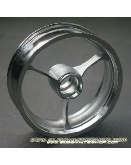 "Rim 2.5""x8"" 3-Spoke Extra Light (700g) Reinforced Aluminum"