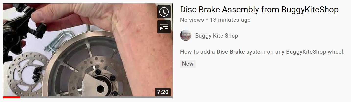 How to add a disc brake system from BKS on any wheel, any front fork